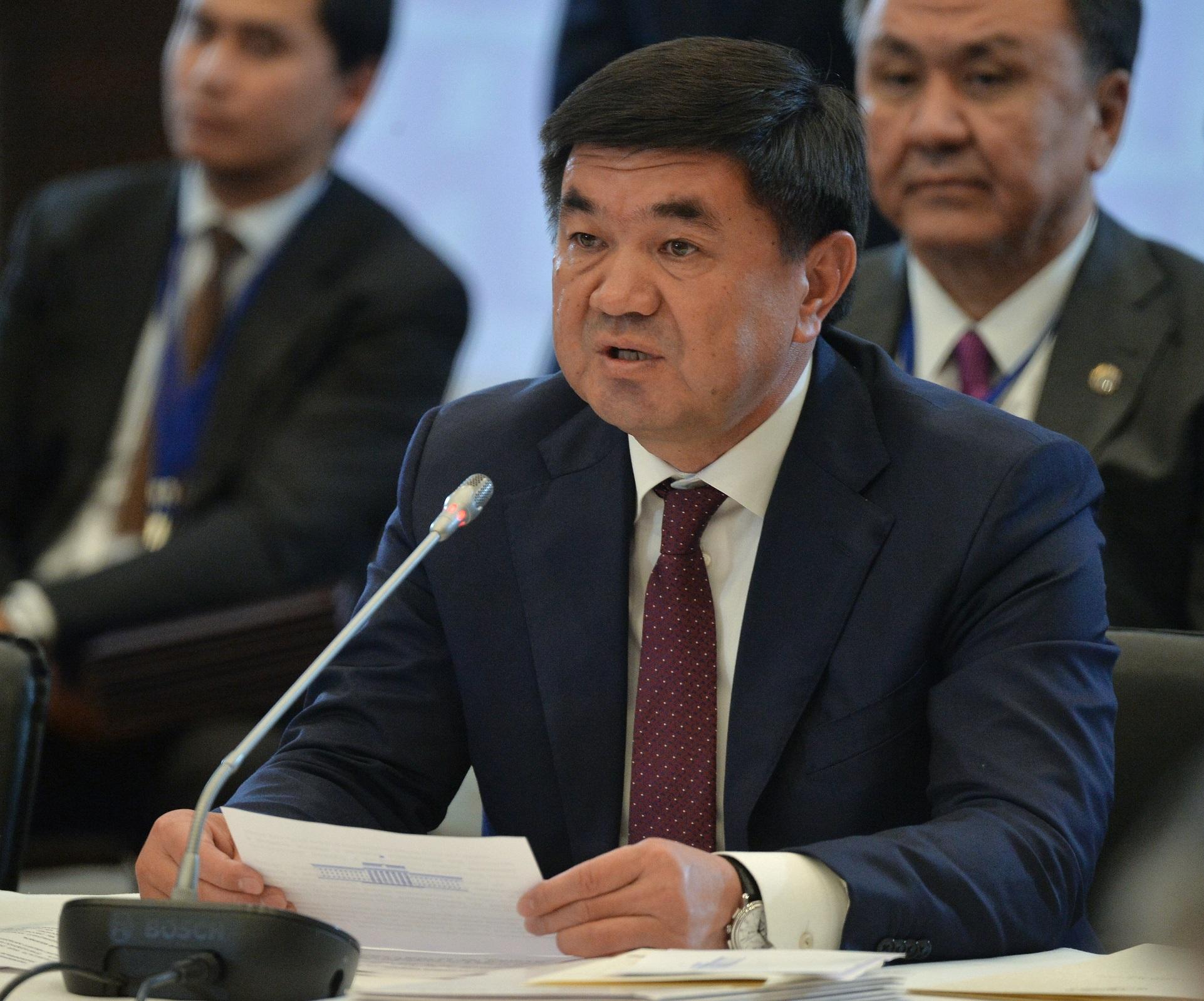Премьер-министр Киргизии Мухаммедкалый Абылгазиев