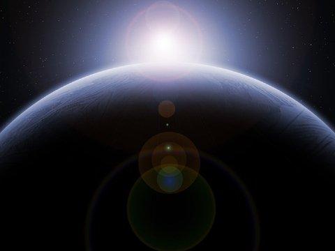 Астрофизики предлагают протянуть от Луны до Земли канат