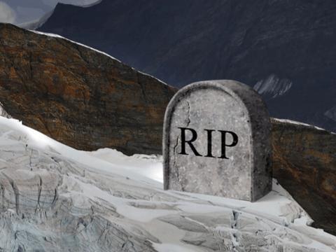 "R.I.P. ледник: в Альпах скорбят и ""хоронят"" растаявший лёд"