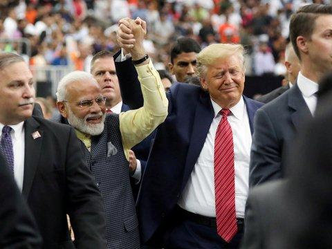 Трамп + Моди = дружба навек, инвестиции и борьба с терроризмом