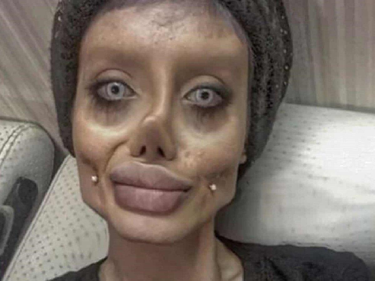 Иранскую Анджелину Джоли арестовали за богохульство и оскорбление религии