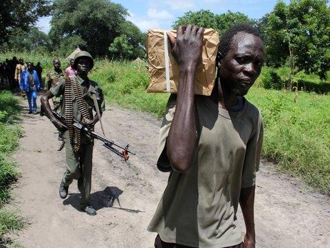 Наступление мира в Южном Судане задерживается. Всё из-за голодных солдат