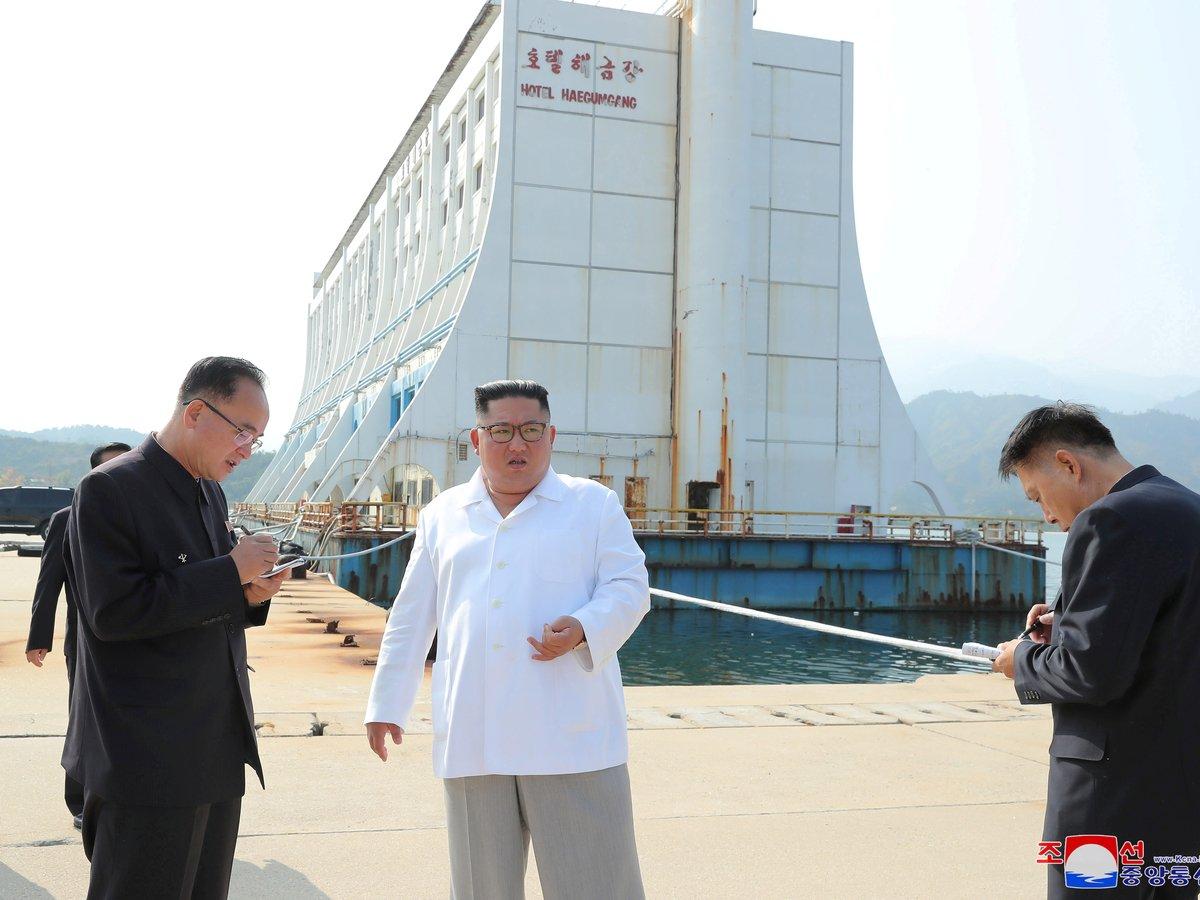 Ким Чен Ын требует сровнять с землёй южнокорейский курорт — он не в его вкусе
