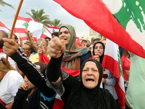 Что будет, если у народа забрать интернет? Треть Ливана протестует
