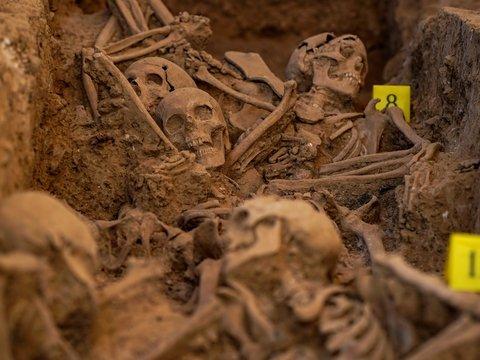 В Благовещенске случайно разрыли могилу с жертвами сталинских репрессий (фото)