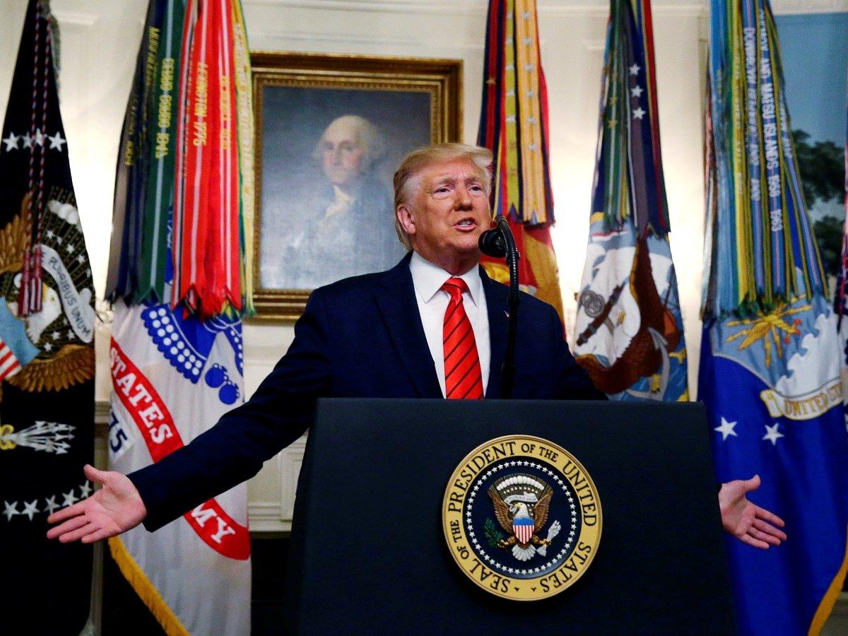 Палата представителей решила, как объявить импичмент Трампу. Трамп в шоке