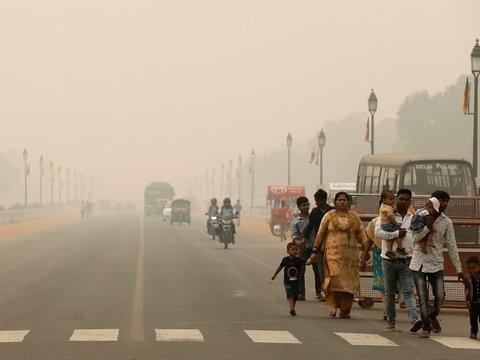 В Индии объявили чрезвычайное положение из-за смога — миллионы людей в опасности