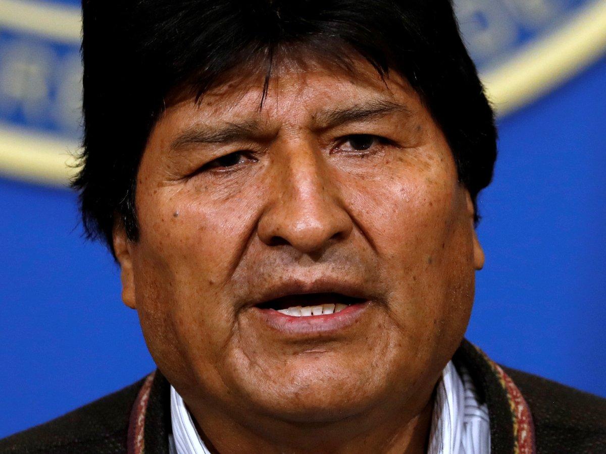Всё высшее руководство Боливии уходит в отставку