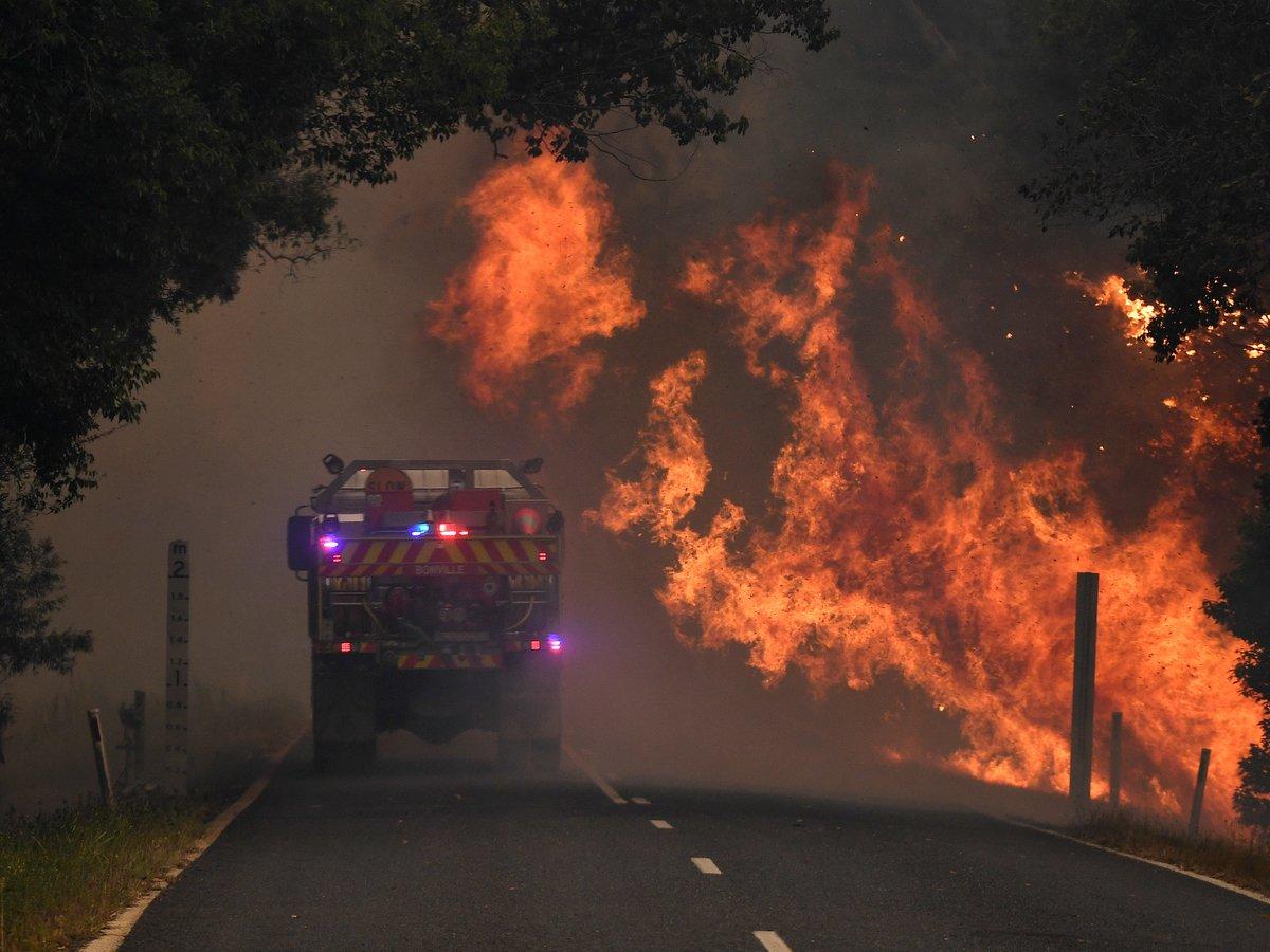 Австралия в огне: лесные пожары усиливаются и скоро доберутся до Сиднея (фото)