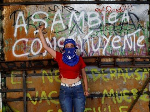 Протесты в Чили: сотни людей остались без глаз, но всё равно требуют реформ