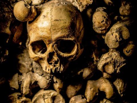 Загробные матрёшки: индейцы хоронили детей в шапочках из черепов других детей