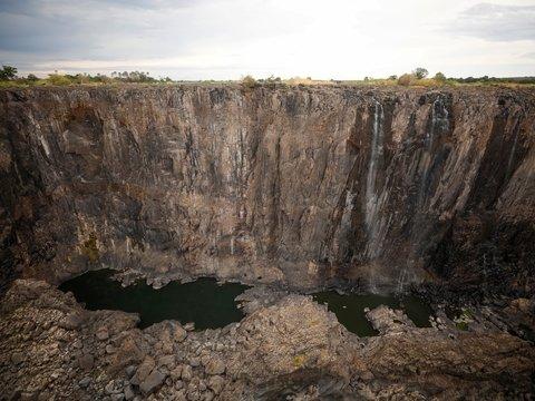 Зря Грету не слушали: изменение климата высушило крупнейший водопад в мире