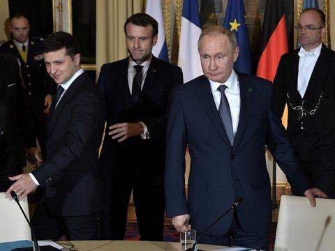 Путин и Зеленский впервые встретились в Париже: о чём говорили и к чему пришли