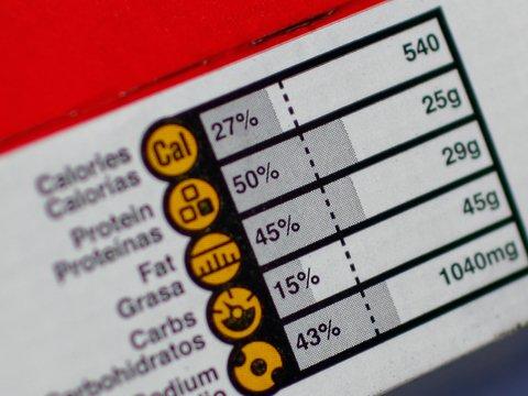 Новая маркировка товаров покажет, сколько придется бегать за съеденный тортик