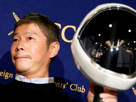 Девочки, записываемся на Луну: японский миллиардер ищет жену для полёта в космос