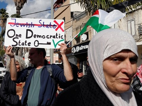 """Палестинцы разорвали все отношения с Израилем и США. Обиделись за """"сделку века"""""""
