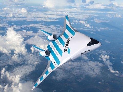 Airbus показала самолёт будущего: выглядит круто, но укачивать будет сильнее