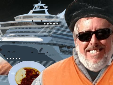 Пассажир круизного лайнера на коронавирусном карантине стал фуд-критиком (фото)