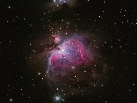 Милый космос: в соседней галактике есть розовые облака и звёзды-младенцы (видео)
