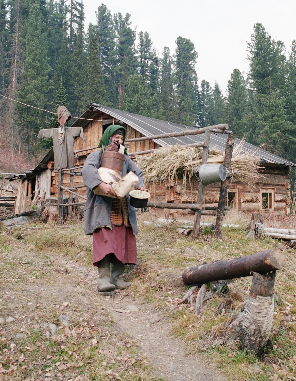 Агафья Лыкова, единственная оставшаяся староверка из семьи Лыковых