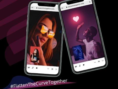 Чтобы люди не скучали в карантине, в США для них придумали приложение знакомств
