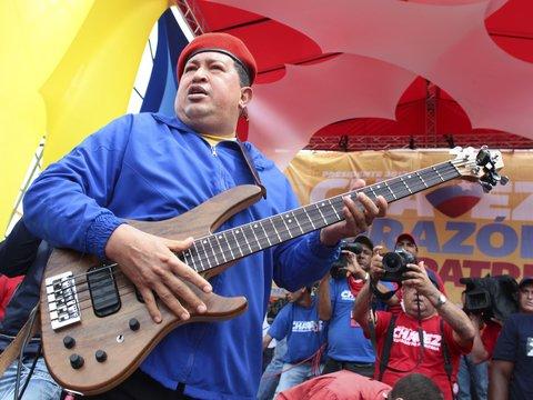 Звуки демократии: США платили венесуэльским рок-группам, чтобы свергнуть Чавеса
