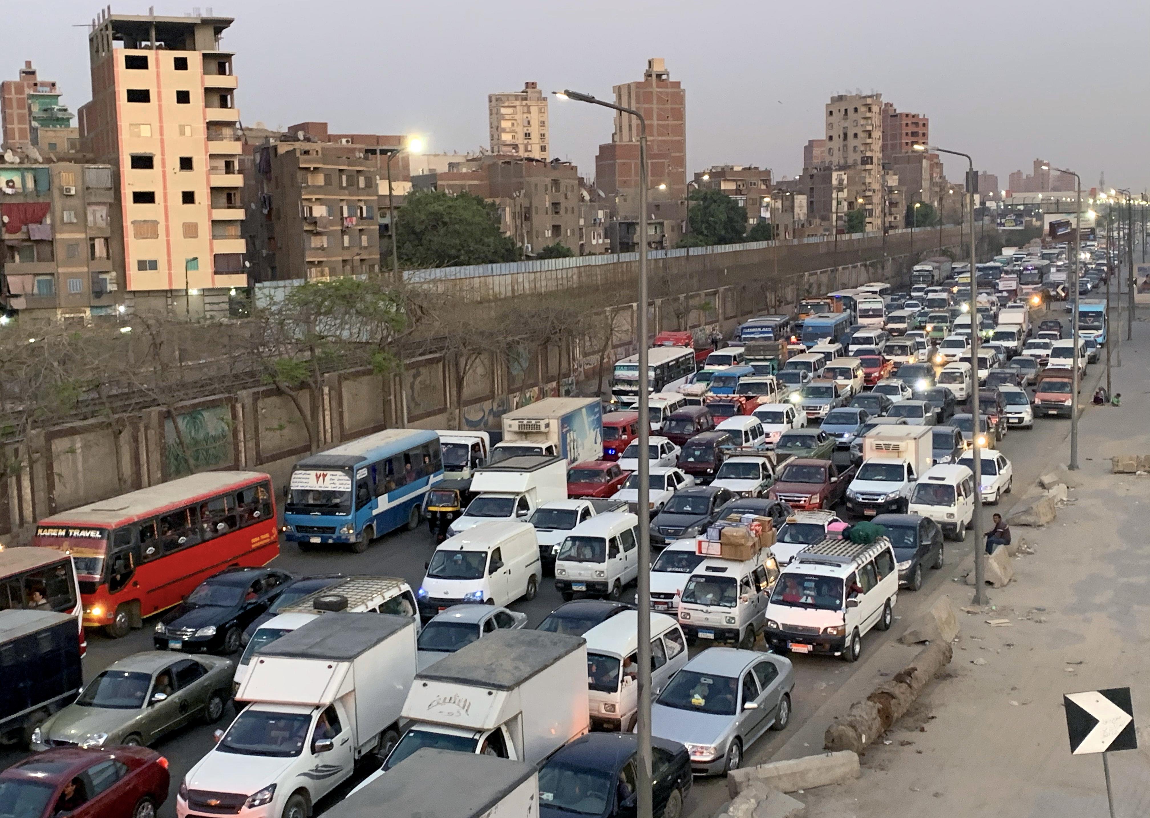 Обычный докоронавирусный день в Каире, Египет