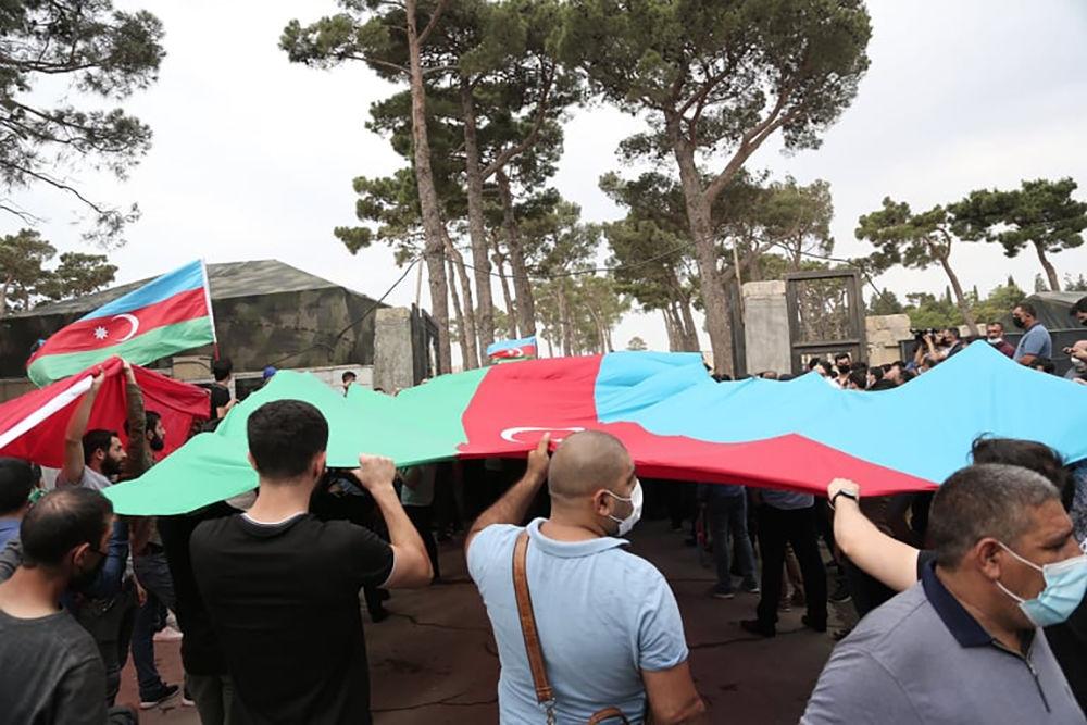 Похороны погибших военных