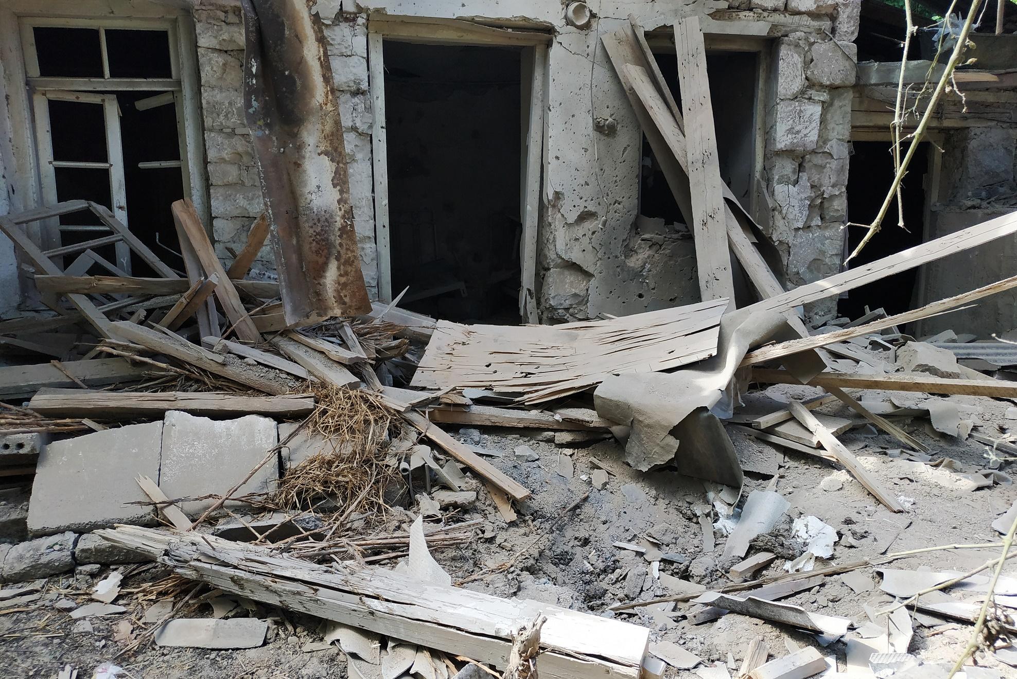 Последствия обстрела на границы. Армянская сторона
