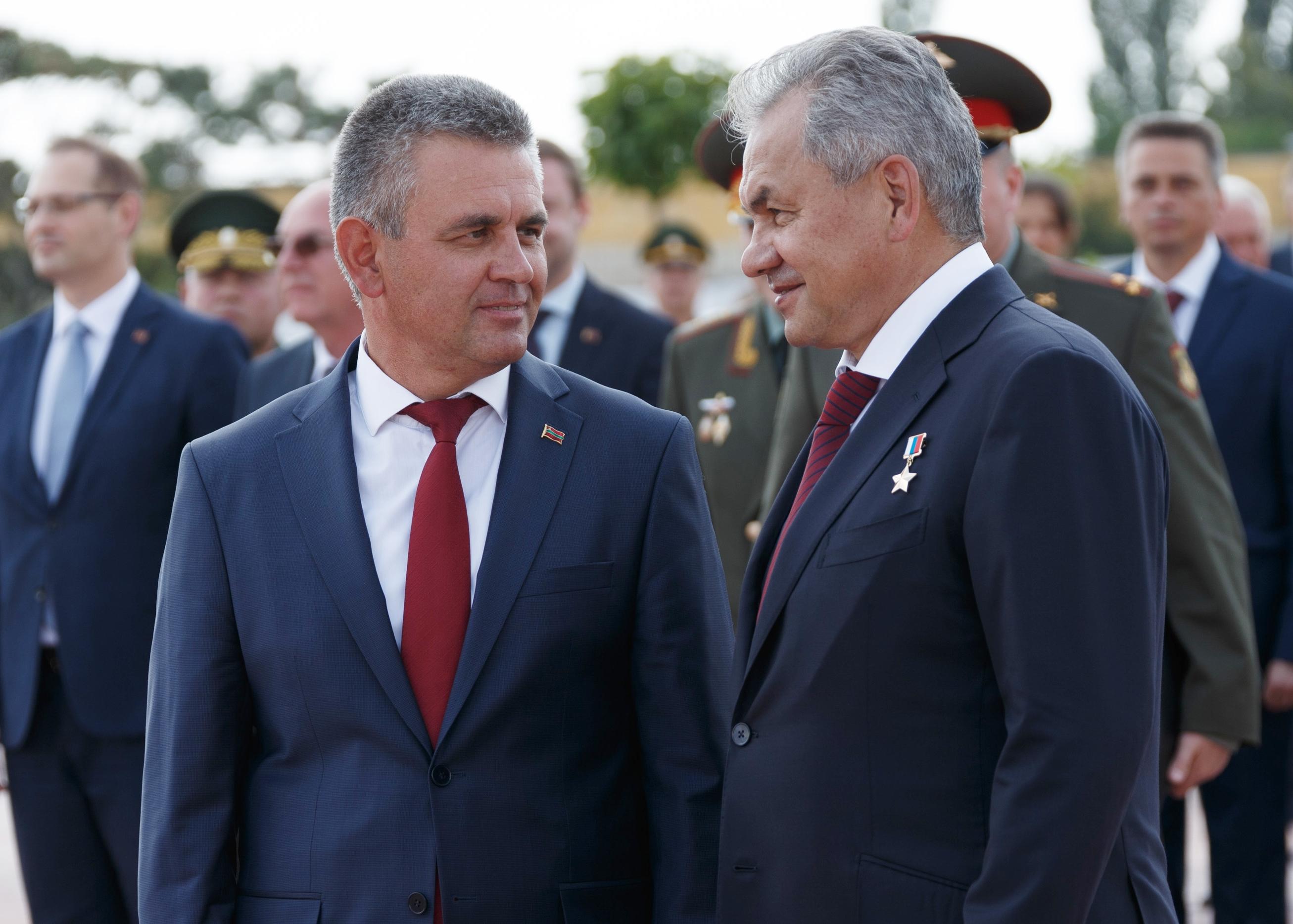 Вадим Красносельский с министром обороны РФ Сергеем Шойгу