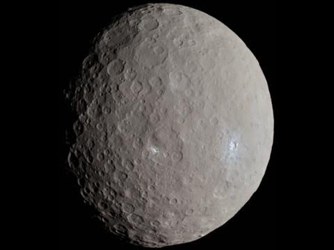 Карликовая планета Церера в поясе астероидов оказалась миром с океаном рассола