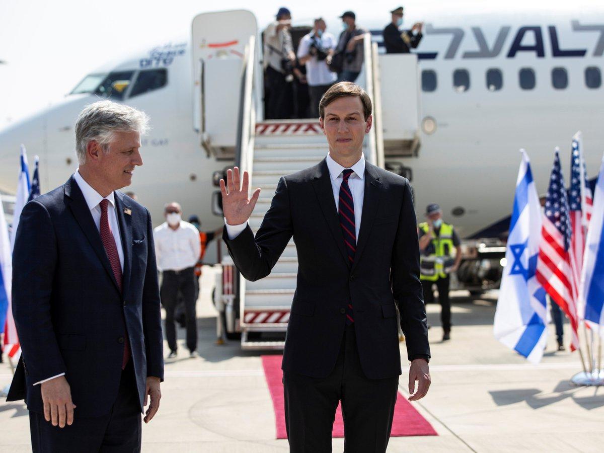 Историческое событие: из Израиля в ОАЭ вылетел первый прямой коммерческий рейс