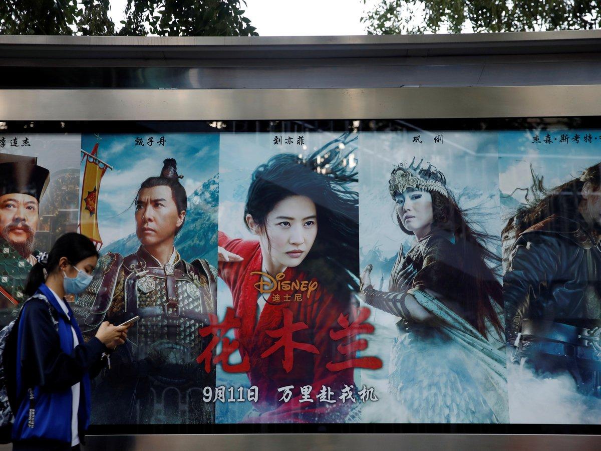 """Власти Китая запретили газетам писать про фильм """"Мулан"""""""