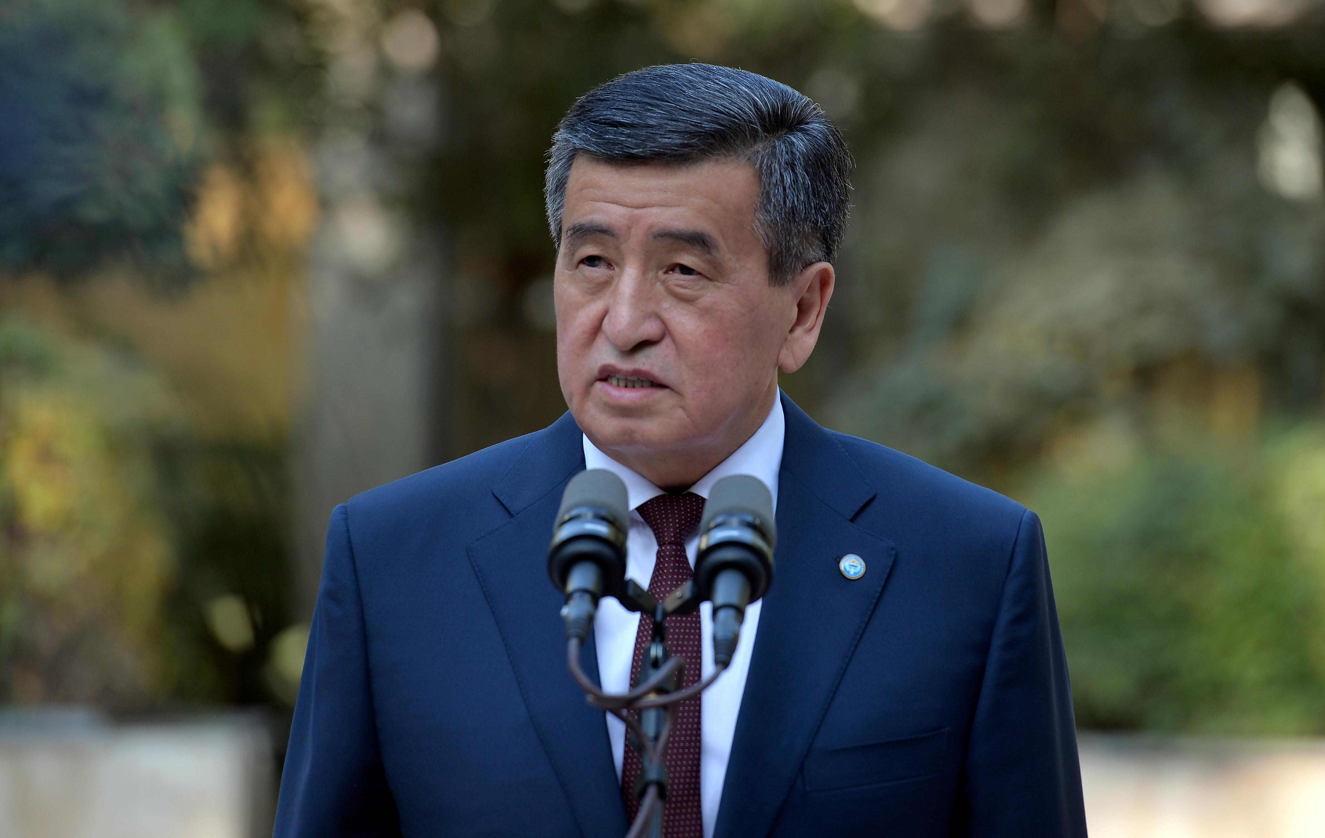 Президент Жээнбеков