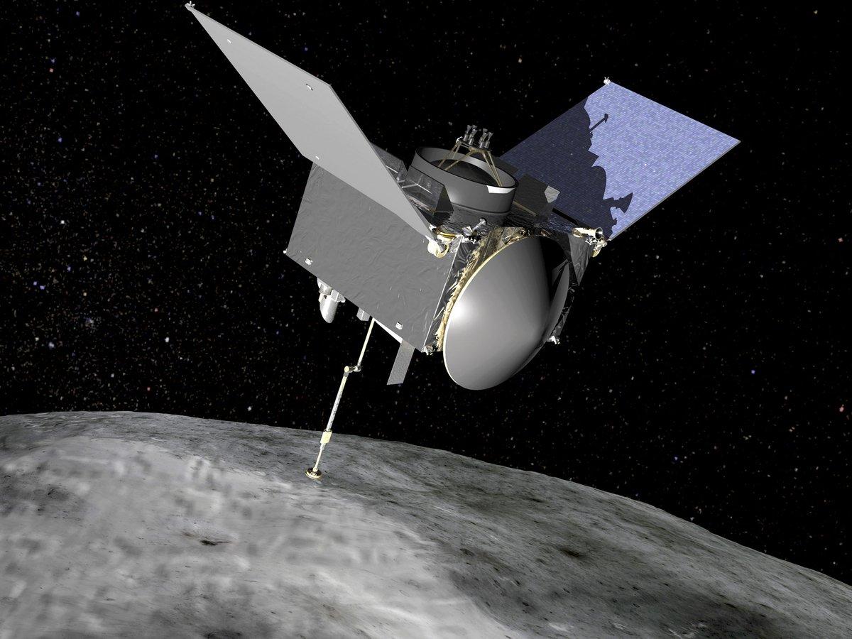 Космический зонд NASA собрал пыль с поверхности астероида