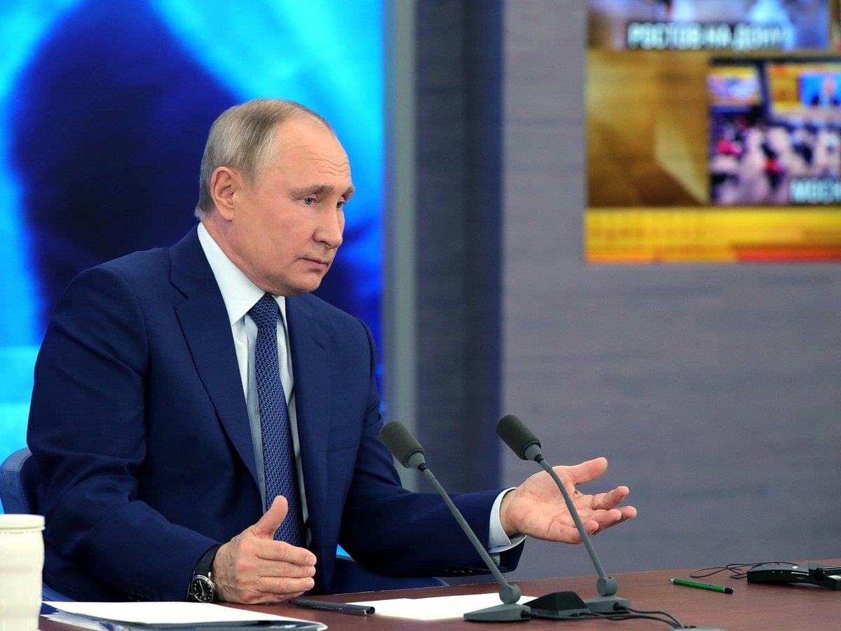 Большая пресс-конференция + прямая линия Путина. Главное.