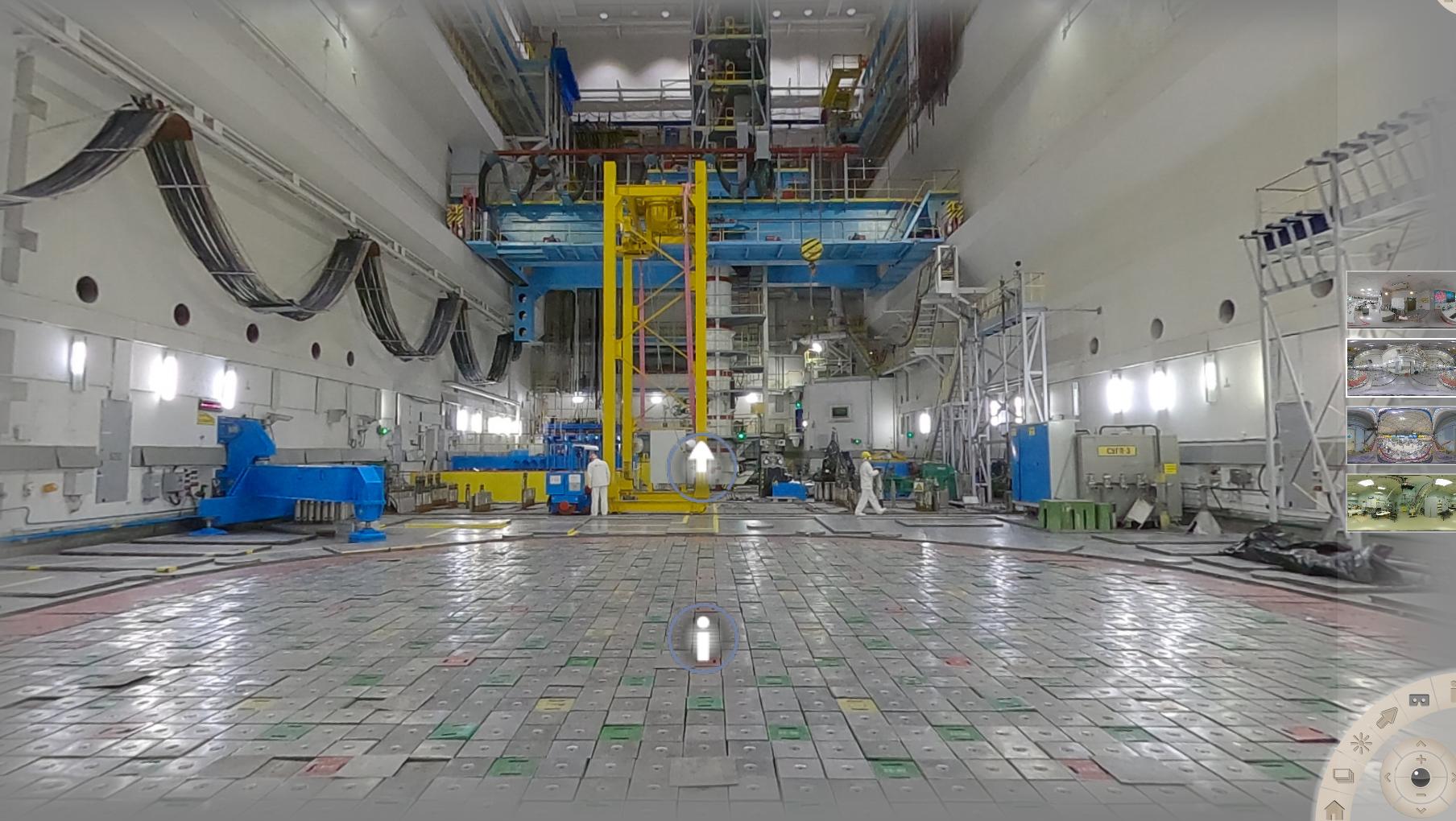 3D-экскурсия по Ленинградской АЭС