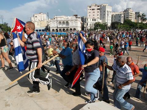 Власти Кубы обвинили США в разжигании протестов — крупнейших за 30 лет