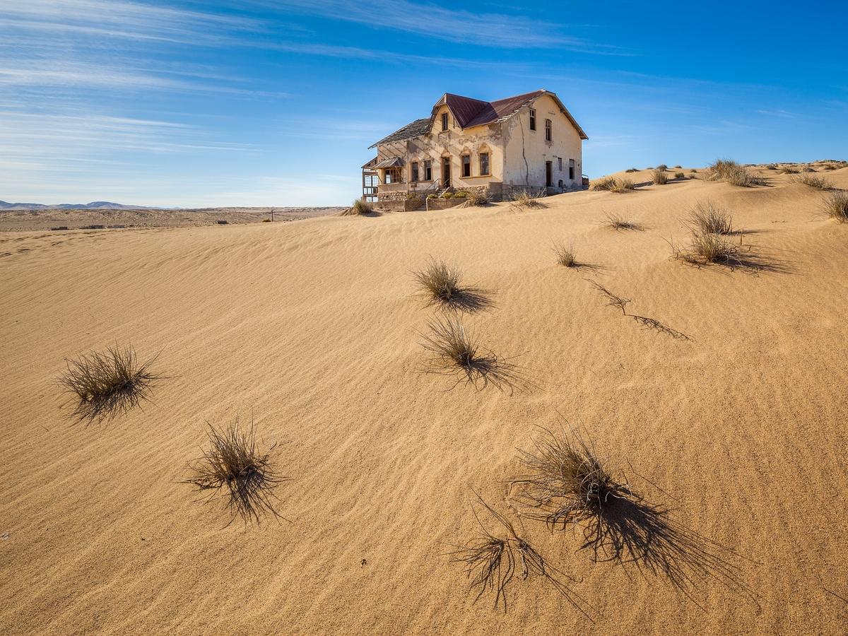 Опустынивание в России: пески наступают